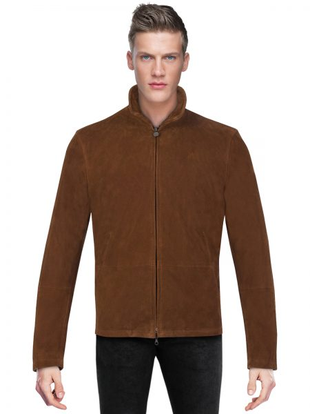 Craig Blouson Suede Leather Jacket