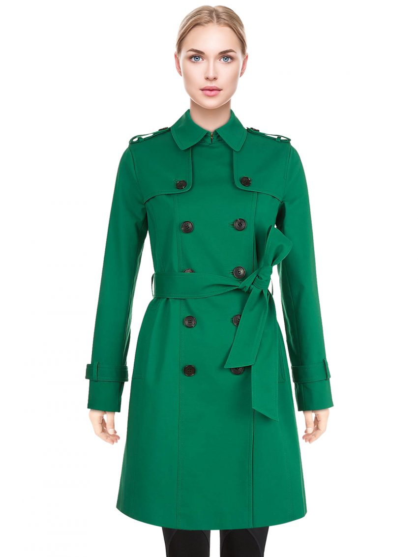 green-petite-saskia-trench-coat