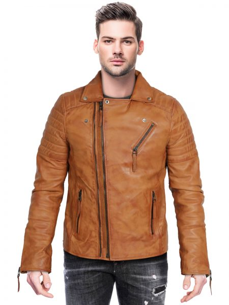 mens-biker-leather-jacket-dual-zip