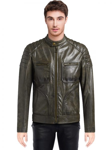 Men's Weybridge Leather Jacket